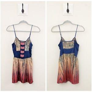 UO Ecote' | Ombre Spaghetti Strap Mini Dress